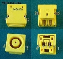 Véritable pas cher jaune pour IBM LENOVO THINKPAD IDEAPAD 3000 V100 V200 E420 N220 n220g ordinateur portable dc prise dalimentation livraison gratuite P/N pj221