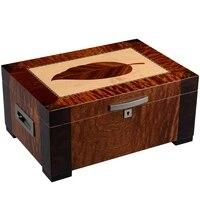 cigar moisturizing box cedar large capacity double layer moisturizer cabinethumidor ch 1136