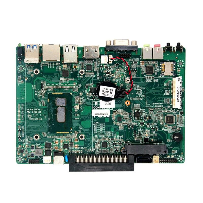 Venta caliente de operaciones 165*114,2 con 5th Haswel MINI PC 1 * VGA 1 * HDM 1 * LAN 2 * USB3.0/1 * MIC/línea. 1 * interruptor wifi/módulo 3G