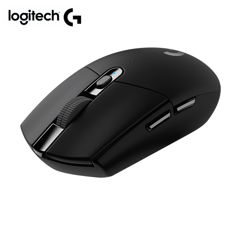 Ratón inalámbrico Logitech G304 gaming mouse inalámbrico 2,4 Ghz con ratón óptico 12000DPI de logitech para overwatch y ratón gamer