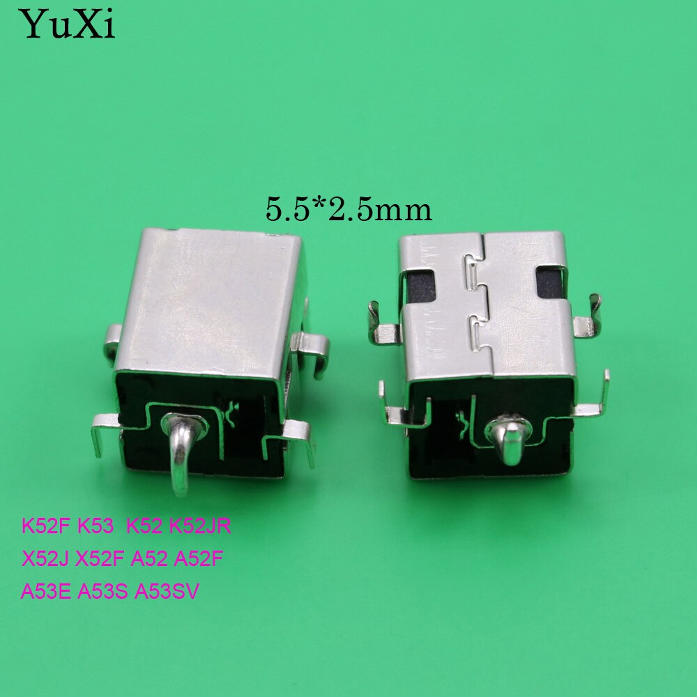 YuXi Laptop NoteBook netbooks DC Jack Power Socket charging port for ASUS K43BR K43BY K43E K43LY K43