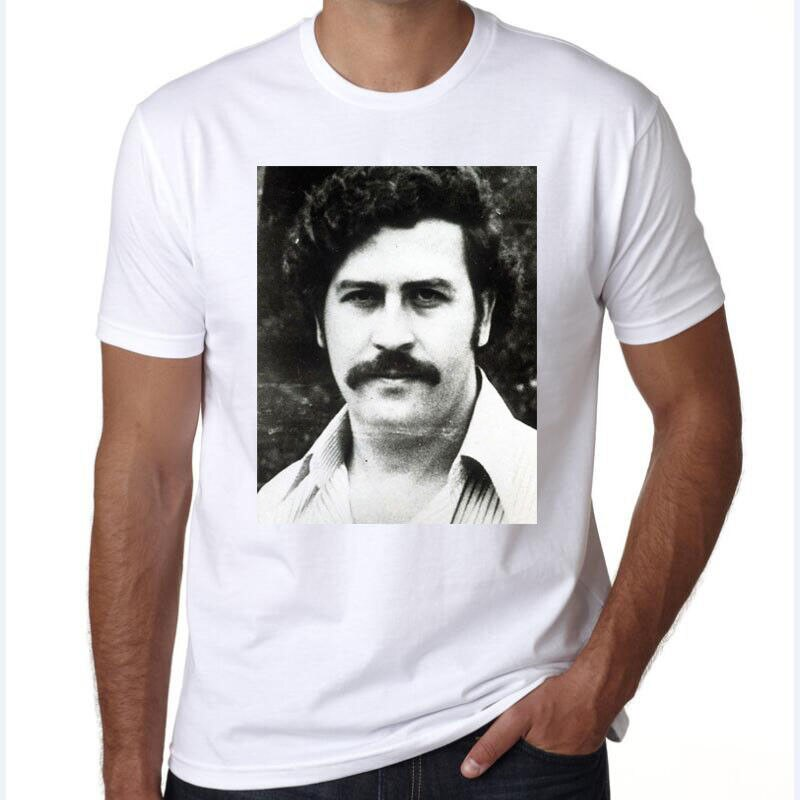 Men T Shirt MenS Tee Pablo Escobar Narcos Plata O Plomo Medellin Colombia 2019 New Arrival Casual Men Clothing Nerd T Shirts