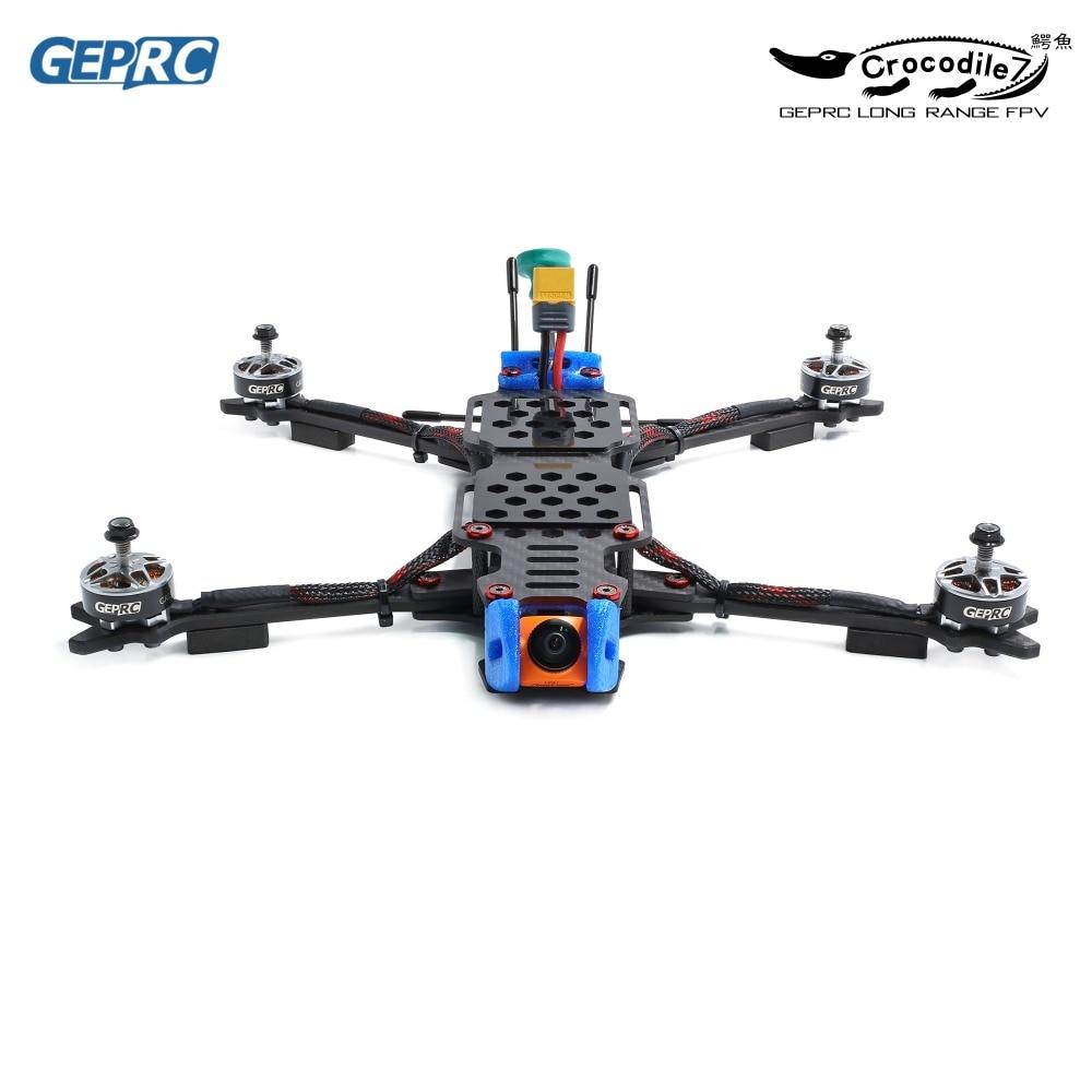 Gprc crocodilo GEP-LC7-PRO/GEP-LC7-1080 315mm 7 Polegada rc fpv racing drone betaflight f4 50a runcam rápido rc drones fpv quadcopter