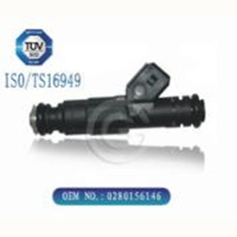 Nueva boquilla de inyección de inyector de combustible de alta calidad 0280156146 para Santana Vista, Volkswagen Santana 99 Rookie, Volvo 850 2,0/2,5
