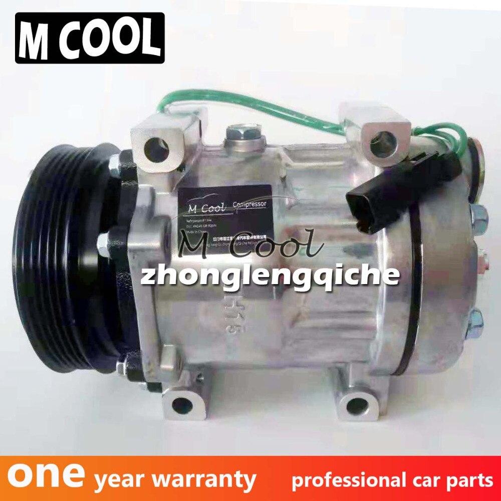 Sanden 7H15 compresor de aire acondicionado para Renault Premium camión 5010412961, 5010483099, 5001858486, 8131, 8093