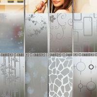 2 м x 45 см Окно двери конфиденциальности пленка комната ванная комната дома стеклянная Наклейка ПВХ матовый