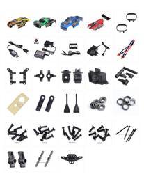 Wltoys 12401 12402 12403 12404 12409 carro rc peças de reposição carro escudo carregador rolamento caixa onda parafuso escudo virar biela etc 2