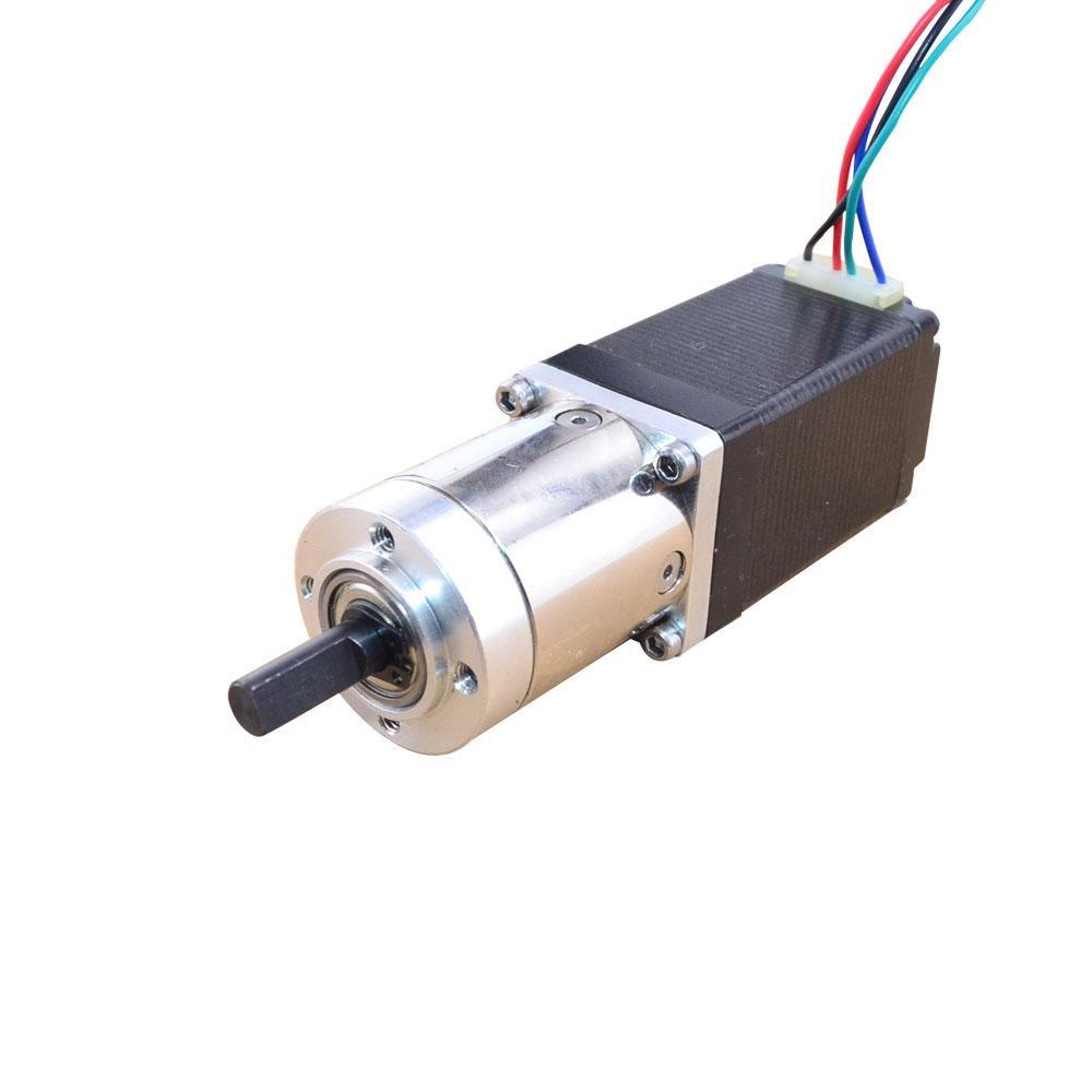 14:1 Planetary Gearbox Nema 11 Geared Stepper Motor 0.71 A Bipolar L=51mm 4-lead for CNC 3D Printer