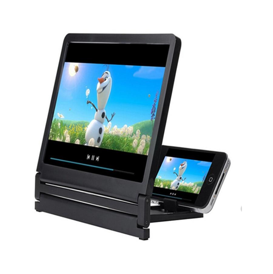 Pantalla del teléfono móvil lupa ojos protección pantalla 3D Video pantalla amplificador plegable soporte de expansión ampliada # BL5