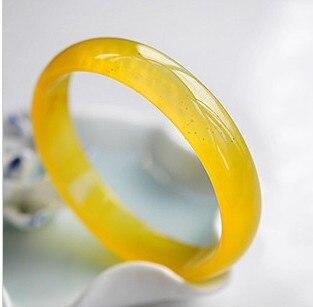 Pulsera de Calcedonia amarilla Natural manao yu