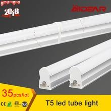 900mm 600mm 300mm T5 lampe Tube LED 90 V 260 V tube Fluorescent PVC LED en plastique 2018 derniers modèles Tube lumière