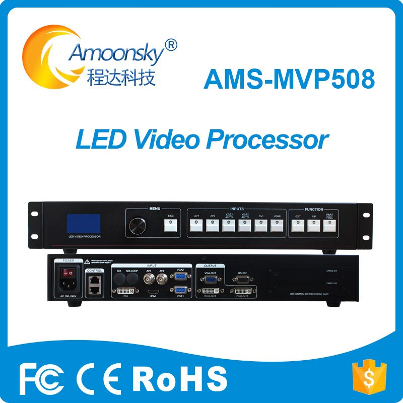 ¡Producto en oferta! AMS-MVP508 led de procesador de vídeo, compatible con tarjeta...