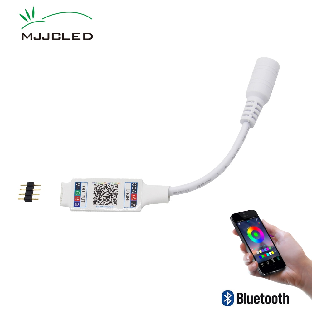 Wifi Mini RGB Bluetooth Controller DC 5V 12V 24V Music Light Strip For RGBW LED