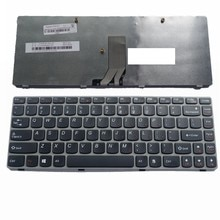 NOUS gris Neuf Anglais Remplacer Le clavier dordinateur portable Pour Lenovo B43 B4301A B4302A B4303A B4305A B4307A B490A B490 B490G B480 B480G B480A
