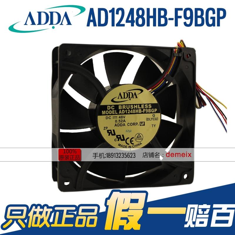 جديد ADDA 12038 DC48V 0.52A AD1248HB-F9BGP 12CMCM التبريد مروحة