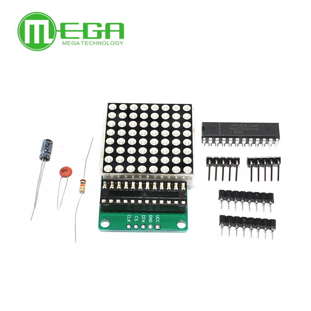 20packs MAX7219 dot matrix module module DIY kit MAX7219 module MCU control module in stock good price