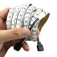 DC 12V 5050 LED RGB Strip High Brightness 120LEDs/m 5M 600LED Flexible Tape Lighting SMD Chip IP30 IP65 IP67 Waterproof New JQ