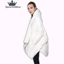 Manteau de cocon femme   Nouvelle liste, à la mode, en duvet de canard blanc, veste chaude, grande taille, design spécial, hiver 90%