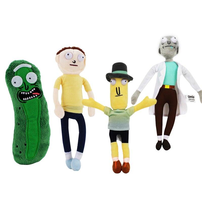 4 estilos TEMPORADA 3 dibujos animados americanos pepino Smith Mr Poopybutth muñeco de peluche Juguetes