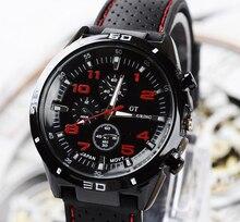 Haut de gamme marque de mode militaire montre à Quartz hommes sport montres-bracelets horloge heure mâle Relogio Masculino 8O75