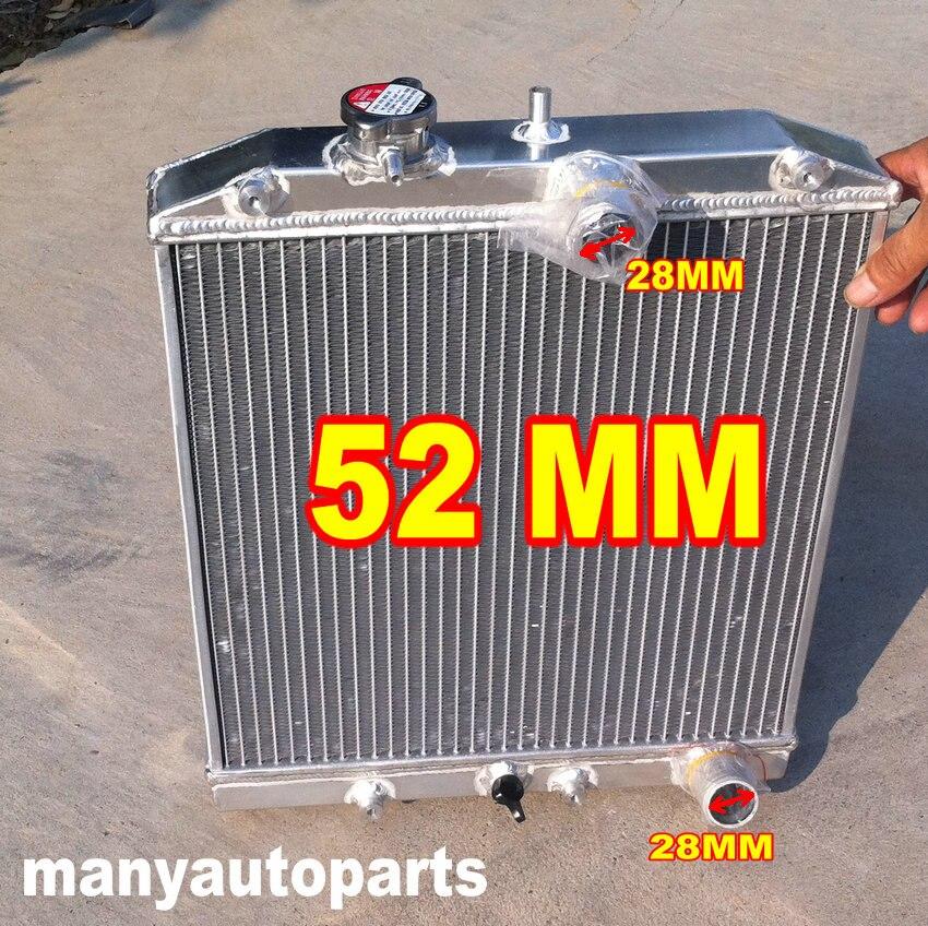 Алюминиевый радиатор для HONDA CIVIC EK4/EK9, EG6/EG9, EM1 B16A VTEC 92-00 28 мм трубы