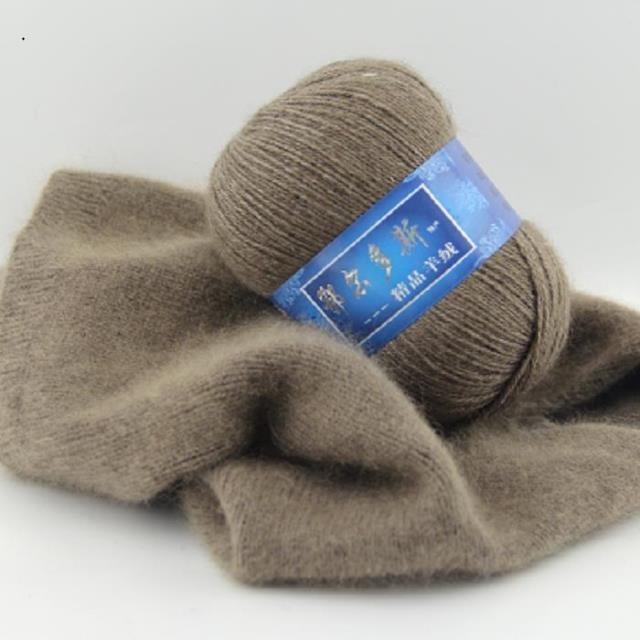 1 ud. = 50g Cachemira mongola tejido a mano de lana de Cachemira hilo tejido de cachemira hilo de tejer DIY para bufandas ropa hilo