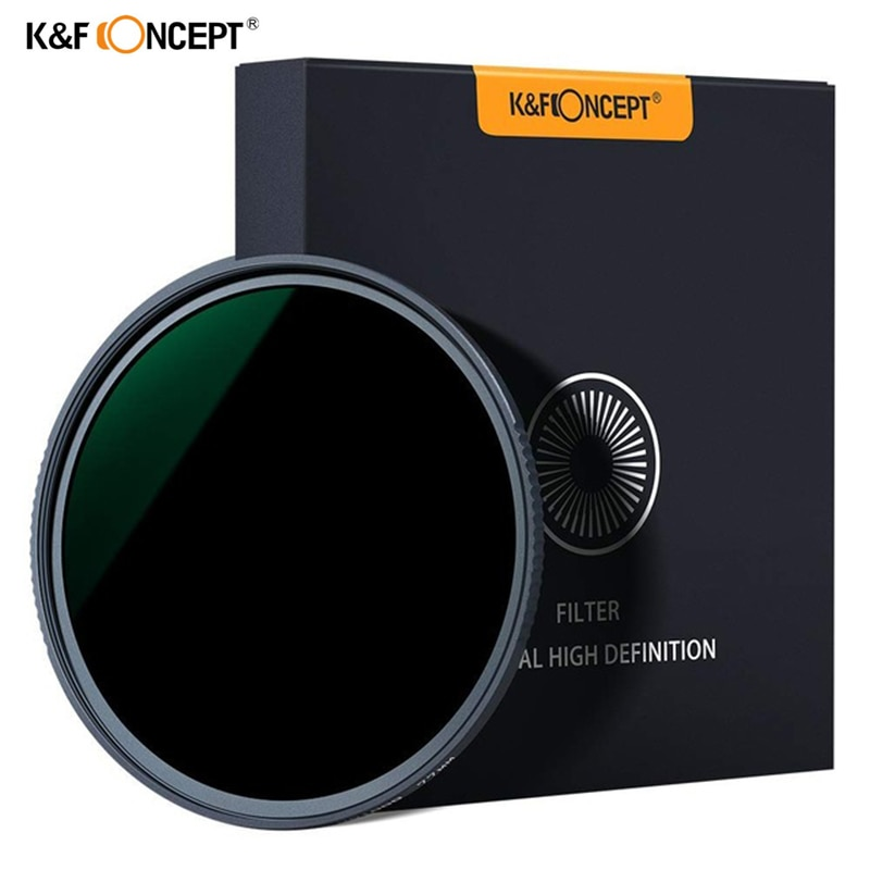 K & F MRC ضئيلة ND1000 52/58/62/67/72/77/82 مللي متر كاميرا ND فلتر عدسة سوبر HD الزجاج محايد الكثافة تصفية لسوني كانون نيكون