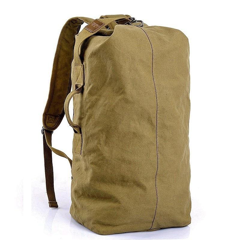 حقيبة ظهر عسكرية تكتيكية 35 لتر ، حقيبة ظهر من القماش للاستخدام في الهواء الطلق والمشي لمسافات طويلة والتخييم والسفر والصيد وصيد الأسماك والج...