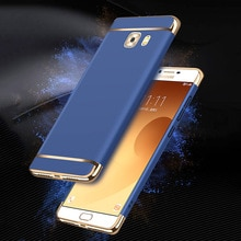3 in 1 Hybrid brushed Frosted Beschermende hard Plating Case voor Samsung Galaxy C5 C5pro C7 C9pro J3Pro G313 G530 batterij Behuizing