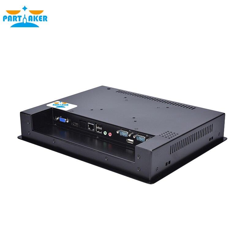 Z7 Fan Embedded touch screen panel pc 12.1 inch industrial panel pc i7 3537U 4G RAM 64G SSD enlarge