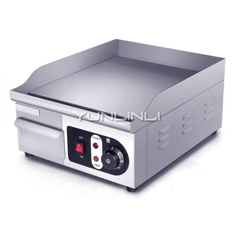 comercial eletrica griddle comercial equipamento teppanyaki bife de aco inoxidavel grill pan eg360a