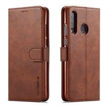 Étui magnétique de luxe pour Huawei P9 P10 P20 P30 Lite P9 P20 P30 Pro P smart 2019 étui de téléphone fente pour carte support à rabat walle etui de protection