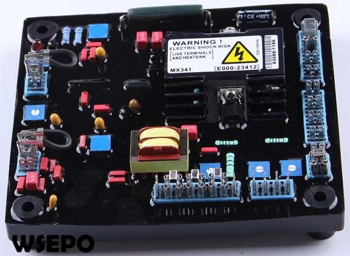 MX341 AVR/Automatic Voltage Regulator Excitation Recifier for Brushless Type Diesel Generator Set