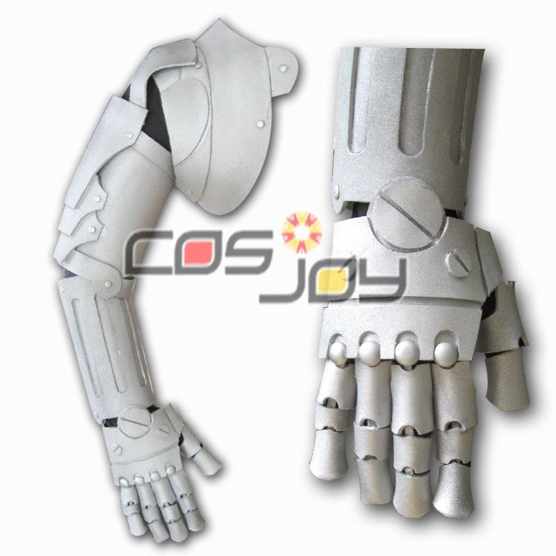 0067 Cosjoy Fullmetal Alchemist Ed elcric brazo derecho armadura EVA Cosplay Prop