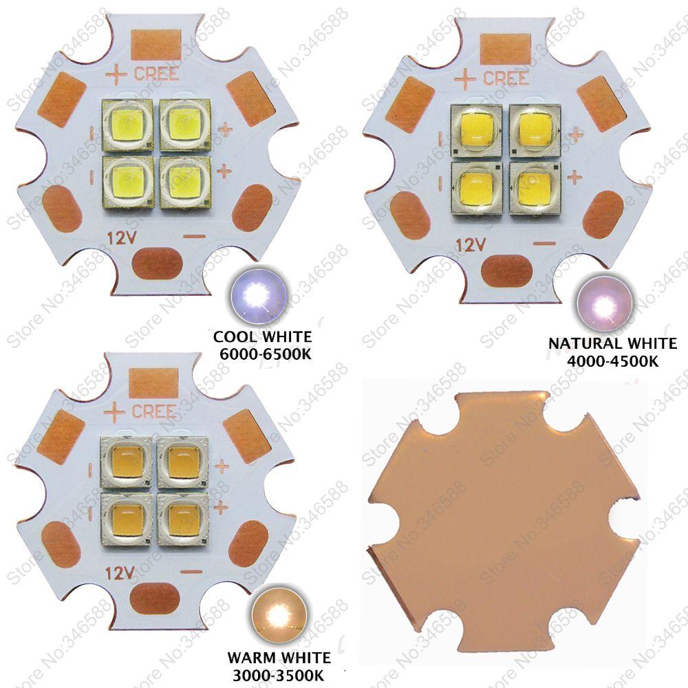 5 قطع 3 فولت/6 فولت/12 فولت كري xpg2 xp 4 رقائق 4 المصابيح 18 واط بارد الأبيض 6500 كيلو محايد الأبيض 4500 كيلو 3000 كيلو عالية الطاقة الدافئة الأبيض الصمام با...