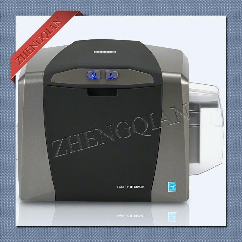 Impresora de tarjetas Fargo45500 Fargo DTC1250e de doble uso