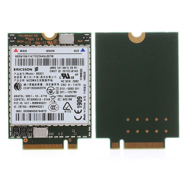 Tarjeta adaptadora inalámbrica para 04W3842 3G WWAN tarjeta para Lenovo thinkpad T440S T440P W540 Ericsson N5321