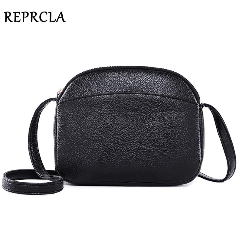 REPRCLA 2021 Hot Crossbody Bags For Women Fashion Small Messenger Bags Girls PU Leather Shoulder Bag Female Handbag Designer
