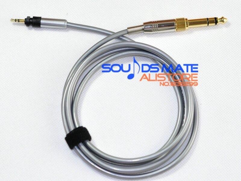 Cable de repuesto de actualización de Audio 5N OCC para Philips SHP9000 SHP8900 auriculares 1,5 m-5 m 5N Occ 99.9997% Cable de repuesto