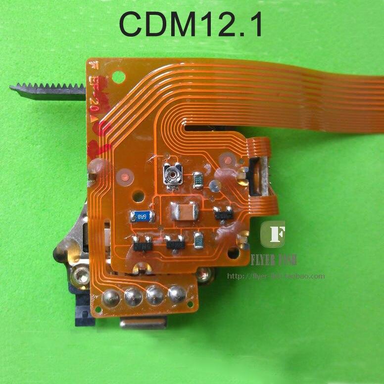 100% original 12.1 CDM12.1 capacitor Grande Captador Óptico W/O mecanismo para HIFI Marantz CD Player lente Do Laser/cabeça do laser