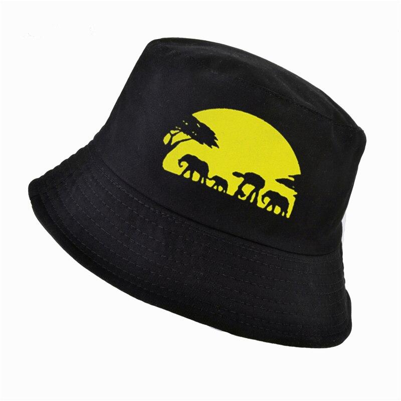 New National Geographic bucket hat Fashion men women cotton k pop panama fisherman hats outdoor hunting fishing cap bone feminin