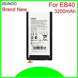 ISUNOO 3200 mah Bateria para Motorola Droid Razr Maxx XT912M XT916 EB40 XT910 Substituição Da Bateria