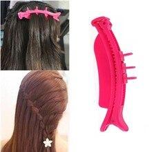 1 Uds., herramienta de trenzado de cabello DIY para mujeres y niñas, gancho de rodillo de trenza ciempiés con trenza mágica para el cabello, accesorios de estilismo