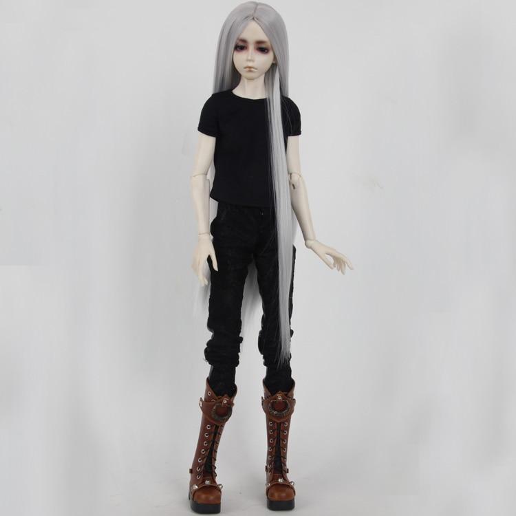 BJD/SD кукла, парики Photon/minifee Chloe мужской/кукла женщина черный необычный длинный парик/3/1/1/6