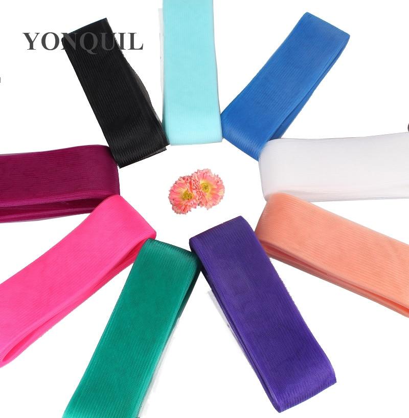 36 colors 2.0 /5cm Crinoline nylon net horsehair hair accessories/ women fascinators craft material ,100yards/lot