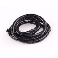 10M 6mm Spiral Wrap Sleeving Band Tube Cable Protector Line Wire Management Wrap for PC Computer Home Hide Cable Winding tube