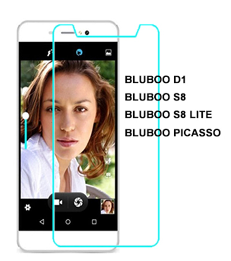2.5D 0.26mm Ultra Tempered Glass For Bluboo D1 S8 LITE picasso Toughened Protector Film Protective Screen Case Cover