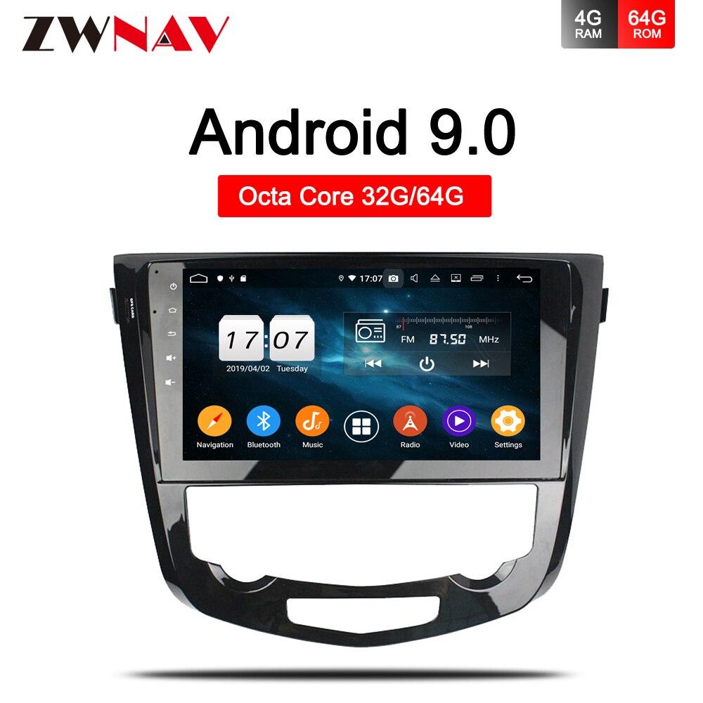 "IPS DSP 10.2 ""Android 9,0 Auto GPS Radio einheit für Nissan X-Trail Qashqai J10 J11 2014 2015 2016 2017 Stereo Multimedia Navigation"