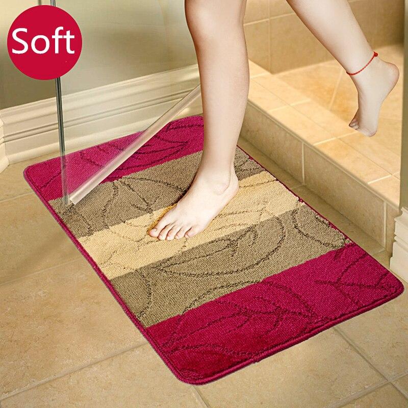 Moderna alfombra De baño antideslizante... Tapete Para Banheiro De baño alfombra cocina...