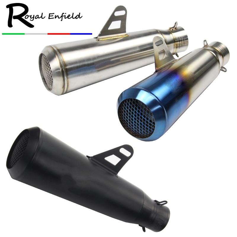 Выхлопная труба для мотоцикла, глушитель выхлопной трубы для мотоцикла, выхлопная труба для мотоцикла с сетчатым входом 51 мм для Кавасаки н...